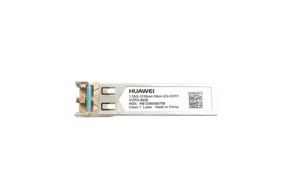 Fiber Optic Transceiver SFP Huawei MXPD-243S 1.25G/1310nm/10km/SM