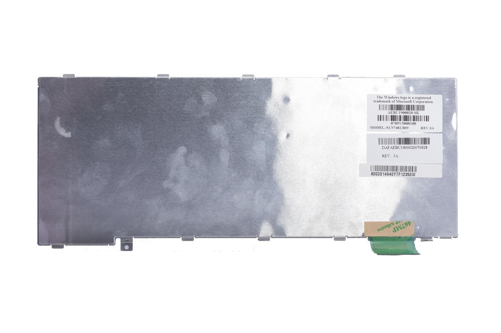 Keyboard Toshiba Silver 9J.N7482.B09 (Slovak)