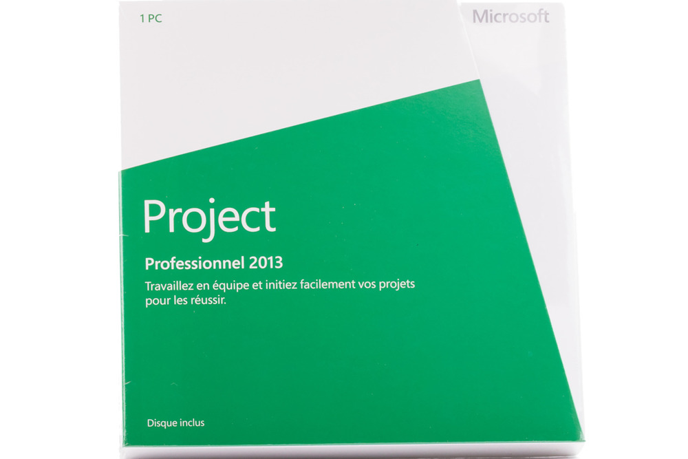 Project Professional 2013 32bit/X64 French Africa/Caribbean Only DVD
