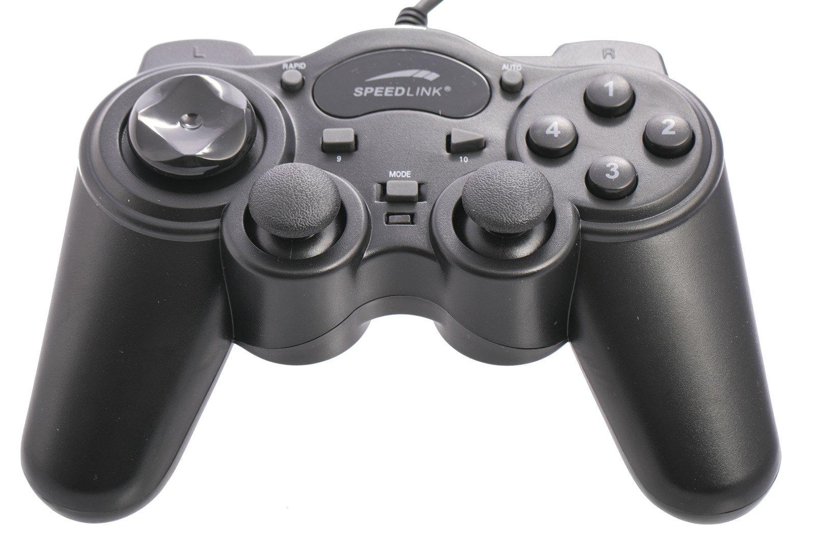 Speedlink Gaming Set Thunderstrike Controller Gamepad + Legatos Headset